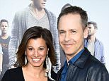 """WESTWOOD, CA - JUNE 01:  Kim Painter (L) and Chad Lowe attend the premiere of Warner Bros. Pictures' """"Entourage"""" at Regency Village Theatre on June 1, 2015 in Westwood, California.  (Photo by Frazer Harrison/Getty Images)"""