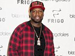 Mandatory Credit: Photo by Startraks Photo/REX/Shutterstock (5490837a)  50 Cent  50 Cent 'Frigo RevolutionWear' launch at Bloomingdale's, New York, America  - 10 Dec 2015  50 Cent Introduces Frigo RevolutionWear Luxury Men's Undergarments to Bloomingdale's