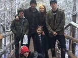 """Happy Christmas!! Lots of love from the Beckhams!!we love u!! @davidbeckham @brooklynbeckham x """