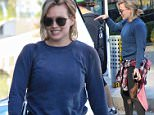 LOS ANGELES, CA - DECEMBER 23: Hilary Duff is seen on December 23, 2015 in Los Angeles, California.  (Photo by Stone-e/Bauer-Griffin/GC Images)