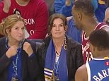 Did LeBron James catch this Warriors fan calling him a crybaby?