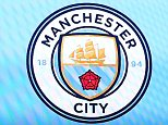 The new club crest is shown during the Barclays Premier League match between Manchester City and Sunderland played at the Etihad Stadium, Manchester on December 26th 2015