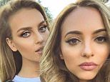 Perrie Edwards Instagram of herself and Jade Thirlwall 26.12.15