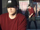 NOT AVAILABLE FOR USE ONLINE UNTIL 00.01 (GMT) on 251215    FEE OF £350 APPLIES EXCLUSIVE Ashton Kutcher spotted leaving Ancient Therapy massage parlor in North Hollywood Featuring: Ashton Kutcher Where: Los Angeles, California, United States When: 18 Dec 2015 Credit: WENN.com ****Not Available for Online Use Until Further Notice****