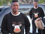 Please contact X17 before any use of these exclusive photos - x17@x17agency.com   Jermaine Jackson is spotted out in Calabasas going for a coffee run the day after Christmas. The singer and producer wears a Rudolph holiday sweatshirt to keep up the Christmas spirit, despite his recent marriage woes. Also, his sister Janet just recently tweeted that she is postponing her world tour due to surgery, with no further details. Saturday, December 26, 2015 X17online.com PREMIUM EXCLUSIVE