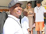 Sunday, December 27, 2015 - Hip-Hop Mogul Russell Simmons disembarked from his yacht and took his young girlfriend shopping in Gustavia, St. Barth.  The couple checked out Vilebrequin and Hermes in the shopping district of the Caribbean holiday hot spot.  X17online.com