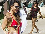 27 Dec 2015 - BRIDGETOWN - BARBADOS *** EXCLUSIVE ALL ROUND PICTURES *** *** NO ONLINE SUBSCRIPTIONS ALLOWED *** English TV presenter Lizzie Cundy hits the beach while on a winter break in Barbados {Photos: Shakeira Farnum-Islandpaps/Xposurephotos.com) BYLINE MUST READ : XPOSUREPHOTOS.COM ***UK CLIENTS - PICTURES CONTAINING CHILDREN PLEASE PIXELATE FACE PRIOR TO PUBLICATION *** **UK CLIENTS MUST CALL PRIOR TO TV OR ONLINE USAGE PLEASE TELEPHONE 44 208 344 2007**