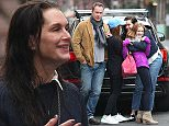 Mandatory Credit: Photo by Startraks Photo/REX/Shutterstock (5502343f)  Brooke Shields, Chris Henchy, Rowan Henchy, Grier Henchy  Brooke Shields and Family out and aboutl, New York, America - 27 Dec 2015  Brooke Shields and Family Out in the West Village