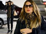 Picture Shows: Sofia Vergara  December 26, 2015    'Modern Family' actress Sofia Vergara is looking fit in a pair of tight black pants while shopping at a mall in Century City, California.     Exclusive All Rounder  UK RIGHTS ONLY    Pictures by : FameFlynet UK © 2015  Tel : +44 (0)20 3551 5049  Email : info@fameflynet.uk.com