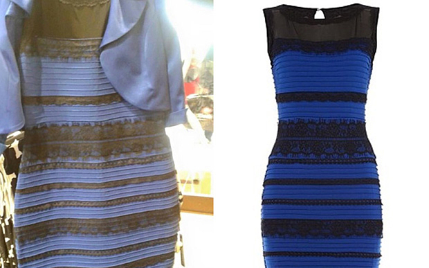 This dress is blue so why do some people see it as white?