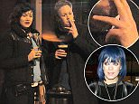 EXCLUSIVE: Sam Cooper, Lily Allens husband enjoys drinks with Lily Allen look alikes outside a pub. Sam was spotted without his wedding ring sparking rumours of a marriage break down.  Pictured: SAM COOPER Ref: SPL1200606  281215   EXCLUSIVE Picture by: BR  Splash News and Pictures Los Angeles: 310-821-2666 New York: 212-619-2666 London: 870-934-2666 photodesk@splashnews.com