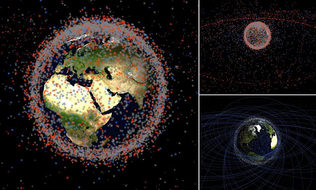 Stuff in Space tracks thousands of satellites, rockets and debris orbiting Earth