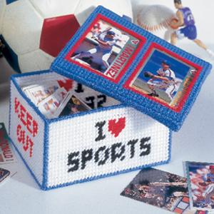 Sports Card Keeper Plastic Canvas ePattern