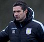 BIRMINGHAM, ENGLAND - DECEMBER 31 :  Remi Garde manager of Aston Villa during a Aston Villa training session at the club's training ground at Bodymoor Heath on December 31, 2015 in Birmingham, England. (Photo by Neville Williams/Aston Villa FC via Getty Images)