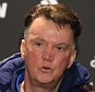 MANCHESTER, ENGLAND - DECEMBER 31:  (EXCLUSIVE COVERAGE) Manager Louis van Gaal of Manchester United speaks during a press conference at Aon Training Complex on December 31, 2015 in Manchester, England.  (Photo by John Peters/Man Utd via Getty Images)