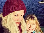 Tori Spelling Jan 1 My Sweet Stella...A self professed mama's girl for life. No complaints here! Love you Buggy. #wintervacation #2016