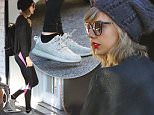 Picture Shows: Taylor Swift  December 30, 2015\n \n Singer and songwriter Taylor Swift was spotted heading to the gym in West Hollywood, California. Taylor was rocking Yeezy sneakers and was kept under the close watch of her bodyguard.\n \n Non Exclusive\n UK RIGHTS ONLY\n \n Pictures by : FameFlynet UK © 2015\n Tel : +44 (0)20 3551 5049\n Email : info@fameflynet.uk.com