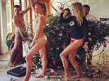 1h christiebrinkleyOur Christmas tree just fell so... Strike a pose! Happy New Year One All no matter what! Lol!!!