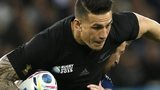 New Zealand's Sonny Bill Williams on the attack against Namibia