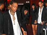EXCLUSIVE: WIZ KHALIFA was spotted leaving 1 Oak holding hands with mystery girl \n\nPictured: WIZ KHALIFA\nRef: SPL1202248  010116   EXCLUSIVE\nPicture by: BlayzenPhotos / Splash News\n\nSplash News and Pictures\nLos Angeles: 310-821-2666\nNew York: 212-619-2666\nLondon: 870-934-2666\nphotodesk@splashnews.com\n