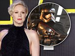 Mandatory Credit: Photo by David Fisher/REX/Shutterstock (5494580ao).. Gwendoline Christie.. 'Star Wars: The Force Awakens' film premiere, London, Britain - 16 Dec 2015.. ..