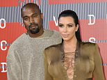 Mandatory Credit: Photo by Rob Latour/REX/Shutterstock (5012161kt)  Kanye West and Kim Kardashian  MTV Video Music Awards, Arrivals, Los Angeles, America - 30 Aug 2015