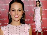 eURN: AD*192032306  Headline: 27th Annual Palm Springs International Film Festival Film Festival Awards Gala - Red Carpet Caption: PALM SPRINGS, CA - JANUARY 02:  Actress Alicia Vikander attends the 27th Annual Palm Springs International Film Festival Film Festival Awards Gala at Palm Springs Convention Center on January 2, 2016 in Palm Springs, California.  (Photo by Jeff Vespa/Getty Images for PSIFF) Photographer: Jeff Vespa  Loaded on 03/01/2016 at 02:04 Copyright: Getty Images North America Provider: Getty Images for PSIFF  Properties: RGB JPEG Image (44004K 5235K 8.4:1) 3064w x 4902h at 96 x 96 dpi  Routing: DM News : GroupFeeds (Comms), GeneralFeed (Miscellaneous) DM Showbiz : SHOWBIZ (Miscellaneous) DM Online : Online Previews (Miscellaneous), CMS Out (Miscellaneous)  Parking: