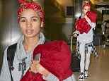 Pia Mia is seen at Los Angeles International Airport in Los Angeles, California.\n\nPictured: Pia Mia\nRef: SPL1202395  010116  \nPicture by: gotpap/Bauergriffin.com\n\n