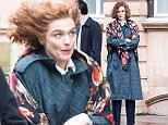 Rachel Weisz has a bad hair day on the set of Denial whilst filming with Andrew Scott\nFeaturing: Rachel Weisz, andrew scott\nWhere: London, United Kingdom\nWhen: 03 Jan 2016\nCredit: WENN.com