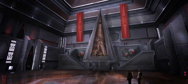 School for scoundrels: the Sith Academy, where players can be trained in using the powers of the Dark Side. You can also join the Jedi - or simply become a trader
