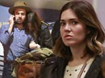 """EXCLUSIVE: Mandy Moore cosies up to rumored new beau, Taylor Goldsmith only months after divorcing Ryan Adams.  Mandy Moore was seen with the """"Dawes"""" singer at LAX after their Christmas vacation. \n\nPictured: Mandy Moore, Taylor Goldsmith\nRef: SPL1202604  030116   EXCLUSIVE\nPicture by: Sharky / Splash News\n\nSplash News and Pictures\nLos Angeles: 310-821-2666\nNew York: 212-619-2666\nLondon: 870-934-2666\nphotodesk@splashnews.com\n"""