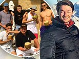 Patrick Schwarzenegger rings in the New Year by making the last few days of 2015 unforgettable