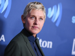 FILE - In this March 21, 2015, file photo, Ellen DeGeneres arrives at the 26th Annual GLAAD Media Awards held at the Beverly Hilton Hotel, in Beverly Hills, Calif. DeGeneres is receiving a humanitarian award, and St. Jude Children¿s Research Hospital is reaping the benefits. Producers of the People¿s Choice Awards announced Monday, Jan. 4, 2016, that DeGeneres will be recognized as the Favorite Humanitarian at the Wednesday, Jan. 6, ceremony.  (Photo by Richard Shotwell/Invision/AP, File)