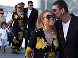 01.01.16\nEXCLUSIVE - Singer Mariah Carey with boyfriend James Packer and her children arrived in Sydney, before joining Lachlan Murdoch and his model wife, Sarah Murdoch on their luxury yacht, Sarissa on Sydney Harbour for a New Years Day party. MUST CREDIT: DIIMEX.COM