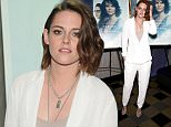 """NEW YORK, NY - JANUARY 03:  Actress Kristen Stewart attends a screening of """"Clouds Of Sils Maria"""" hosted by IFC at the IFC Center on January 3, 2016 in New York City.  (Photo by Neilson Barnard/Getty Images)"""