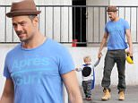 Picture Shows: Axl Duhamel, Josh Duhamel  January 02, 2016\n \n Actor and busy dad Josh Duhamel enjoys breakfast with his son Axl in Brentwood, California. Josh has been busy as of late filming his new movie, 'This Is Your Death.' \n \n Exclusive All Rounder\n UK RIGHTS ONLY\n \n Pictures by : FameFlynet UK © 2016\n Tel : +44 (0)20 3551 5049\n Email : info@fameflynet.uk.com