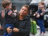 2 Jan 2016 - MANCHESTER - UK\n*** EXCLUSIVE ALL ROUND PICTURES ***\n** STRICTLY NOT AVAILABLE FOR MAIL ONLINE AND ANY ONLINE SUBSCRIPTION DEALS UNLESS FEE AGREED PRIOR TO USAGE***\nPREGNANT COLEEN ROONEY ARRIVES AT OLD TRAFFORD WITH YOUNGEST SON KLAY WHO ISN'T TOO HAPPY UNTIL HE GETS HIS IPAD HIS IPAD\nBYLINE MUST READ : XPOSUREPHOTOS.COM\n***UK CLIENTS - PICTURES CONTAINING CHILDREN PLEASE PIXELATE FACE PRIOR TO PUBLICATION ***\n**UK CLIENTS MUST CALL PRIOR TO TV OR ONLINE USAGE PLEASE TELEPHONE 44 208 344 2007**