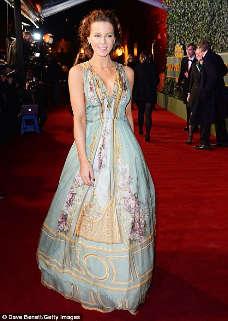 Kate was ethereal in her flowing Alberta Ferretti gown
