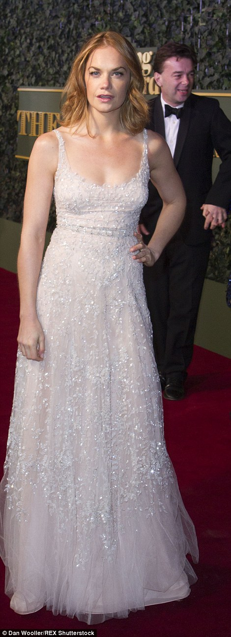 Ruth Wilson, who was critically acclaimed for her role in the thriller The Affair, also showed off her arms and shoulders in a fairy tale-inspired frock