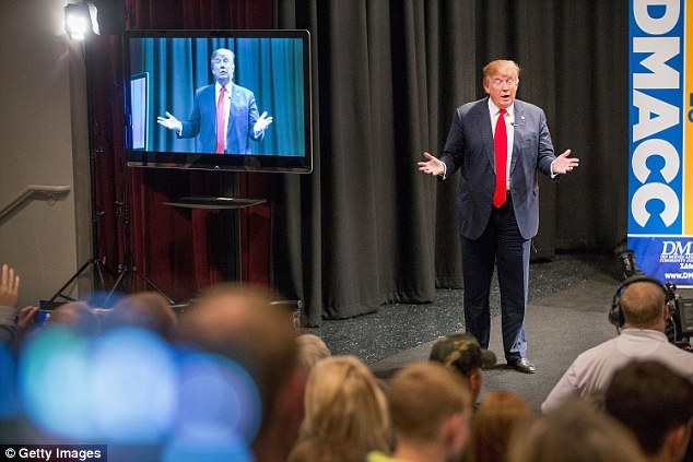 Donald Trump once again holds a comfortable lead in Iowa, with a new poll showing him nine points ahead of Ted Cruz and 11 points ahead of Ben Carson, who was polling at No. 1 in the state for awhile