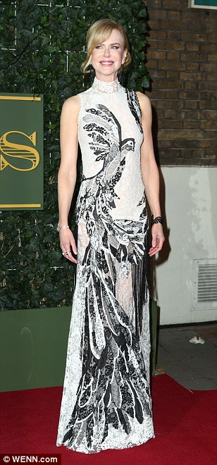 A bevy of glamorous A-list celebrities stepped out on the red carpet of the Evening Standard Theatre Awards ceremony including the perennially chic Nicole Kidman