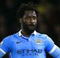 "Manchester City's Wilfried Bony looks dejected during the Barclays Premier League match at Vicarage Road, London. PRESS ASSOCIATION Photo. Picture date: Saturday January 2, 2016. See PA story SOCCER Watford. Photo credit should read: John Walton/PA Wire. RESTRICTIONS: EDITORIAL USE ONLY No use with unauthorised audio, video, data, fixture lists, club/league logos or ""live"" services. Online in-match use limited to 75 images, no video emulation. No use in betting, games or single club/league/player publications."