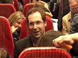 Man of the people Petr Cech taking a rush hour train home #AFC