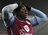 """Football Soccer - Sunderland v Aston Villa - Barclays Premier League - Stadium of Light - 2/1/16  Aston Villa's Adama Traore looks dejected  Mandatory Credit: Action Images / Jason Cairnduff  Livepic  EDITORIAL USE ONLY. No use with unauthorized audio, video, data, fixture lists, club/league logos or """"live"""" services. Online in-match use limited to 45 images, no video emulation. No use in betting, games or single club/league/player publications.  Please contact your account representative for further details."""