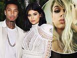 LOS ANGELES, CA - OCTOBER 23:  Tyga and Kylie Jenner attend Olivier Rousteing & Beats Celebrate In Los Angeles at Private Residence on October 23, 2015 in Los Angeles, California.  (Photo by Stefanie Keenan/Getty Images for Beats by Dre)