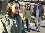 146469, EXCLUSIVE: Mila Kunis and Ashton Kutcher seen out and about in New Orleans. New Orleans, Louisiana - Wednesday January 6, 2015. Photograph: © PacificCoastNews. Los Angeles Office: +1 310.822.0419 sales@pacificcoastnews.com FEE MUST BE AGREED PRIOR TO USAGE
