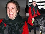 eURN: AD*192426856  Headline: Lena Dunham returns to LA after Girls plans ending Caption: Lena Dunham wore a red jacket for her flight back into LA, accessorizing with a scarf, pushing her own luggage through the airport, after her groundbreaking series Girls confirms final seasons.  Thursday, January 7, 2016. X17online.com Photographer: Paredes/X17online.com  Loaded on 08/01/2016 at 01:11 Copyright:  Provider: Paredes/X17online.com  Properties: RGB JPEG Image (24052K 2451K 9.8:1) 2484w x 3305h at 300 x 300 dpi  Routing: DM News : GeneralFeed (Miscellaneous) DM Showbiz : SHOWBIZ (New Topic 2) DM Online : CMS Out (Miscellaneous)  Parking: