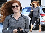 Picture Shows: Amy Adams  January 07, 2016    Actress and busy mom Amy Adams is spotted at a hair salon in Beverly Hills, California. Amy looked gym-ready in a grey hoodie and cropped leggings.    Non Exclusive  UK RIGHTS ONLY    Pictures by : FameFlynet UK © 2016  Tel : +44 (0)20 3551 5049  Email : info@fameflynet.uk.com