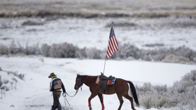 On the front lines of the Oregon standoff