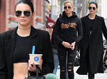 Picture Shows: Hailey Baldwin, Kendall Jenner  December 28, 2015\n \n Reality star Kylie Jenner and model Hailey Baldwin were spotted grabbing Fro Yo in Beverly Hills, California. Kendall was looking chic in a long, black trench coat and high-waisted pants. \n \n Non-Exclusive\n UK RIGHTS ONLY\n \n Pictures by : FameFlynet UK © 2016\n Tel : +44 (0)20 3551 5049\n Email : info@fameflynet.uk.com
